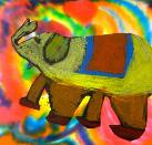 Elephant by 3rd Grade Student, Brentwood School, Los Angeles, California