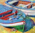 Sicilian Boats 2 by Toby Tover-Krein